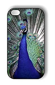 Pink Ladoo? BIRD PEACOCK Hard Cover Black Case for iPhone 5 5s case