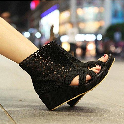 Sandalias Las Punto Del Partido 2 Señoras De Mujeres Zapatos Cena Lino Mzg qERndgg