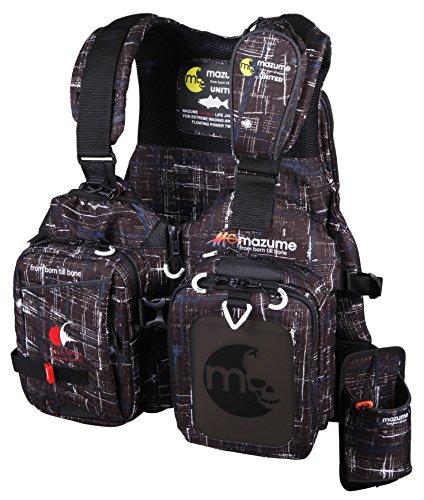 MAZUME(マズメ) レッドムーンライフジャケットV MZLJ-251-02 ブラックカスリ フリーの商品画像