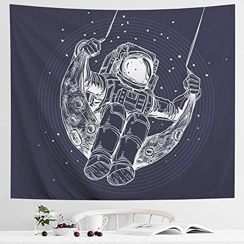 IcosaMro Astronaut Tapestry Hanging Bedroom