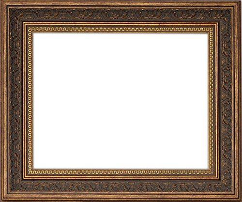 デッサン額縁 8203/アンティークゴールド A2サイズ(594×420mm) ガラス B01EQPGK4Y