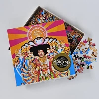 Imagination Games Rediscover Jigsaw Puzzles - Jimi Hendrix - are You Experienced: Game: Toys & Games