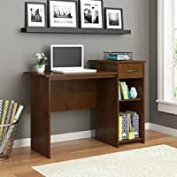 Mainstays Student Desk Adjustable Shelf, (Northfield Alder)
