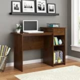Best TMS Writing Desks - Mainstays Student Desk Adjustable Shelf, (Northfield Alder) Review
