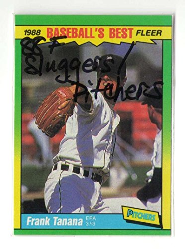 1988 Fleer Sluggers vs Pitchers - DETROIT TIGERS Team Set