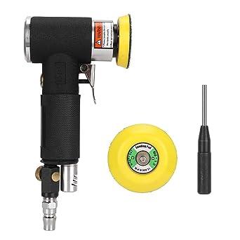 Rectifieuse de polissage pneumatique à 90 ° avec ponceuse à angle pneumatique