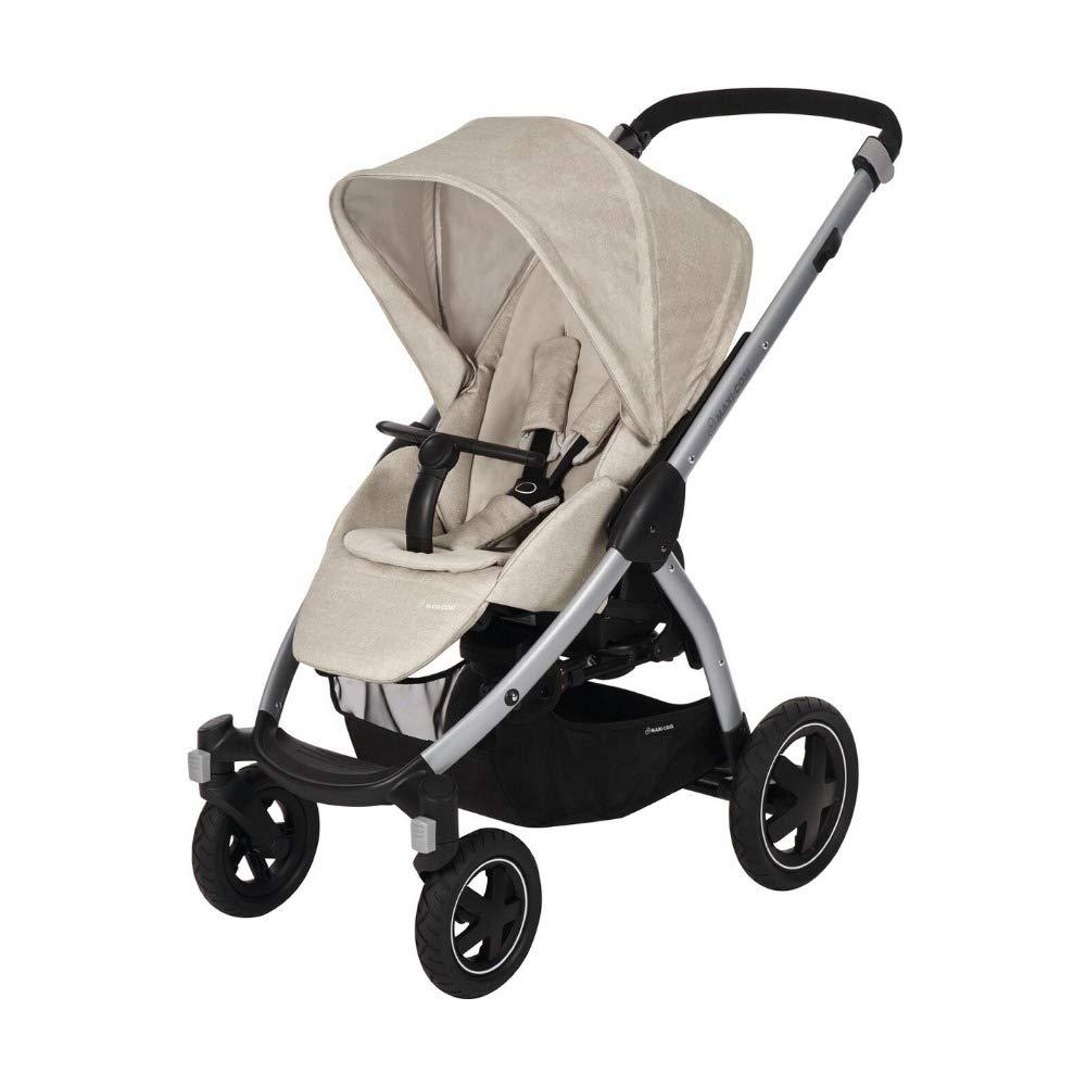 earth braun Maxi-Cosi Stella Kinderwagen mit extra gro/ßem Verdeck und Outdoor-Reifen 0-15 kg extrem wendig und in Kombination mit Babyschale oder Babywanne ab der Geburt nutzbar