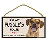 Imagine This Wood Breed Decorative Mortgage Sign, Puggle