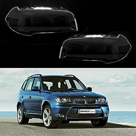 copertura per lampada sinistra destra Vetro per fanale L + R per BMW E60 E61 2004-2010
