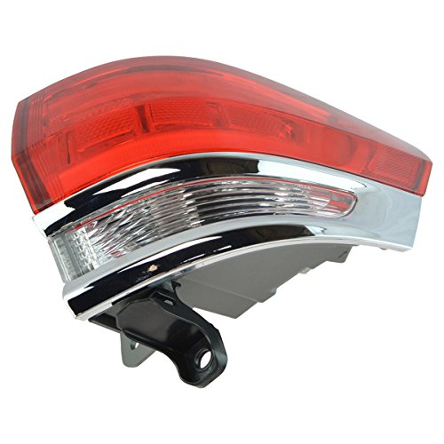 Outer Quarter Panel Mounted Tail Light Lamp Passenger Side RH for Grand Cherokee (Mounted Tail Passengers Side Quarter)