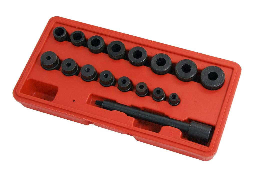 Redgiants Universal Clutch Alignment Tool Kit Aligning Flywheel Pilot Hole Universal 17pc For All Cars