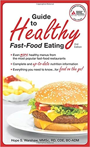 Book Guide to Healthy Fast-Food Eating