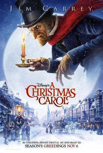 A CHRISTMAS CAROL EXCLUSIVE Original Movie Promo Poster 22