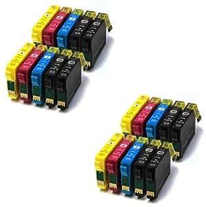 Prestige Cartridge 20 x Epson 79XL Cartuchos de tinta, negro, cian, magenta y amarillo