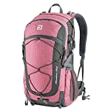 Product Parameters: Name: D010832 40L hiking backpack Weight: 1.89 pound/0.86kg. Size(LxWxH): 13.6x9.8x21.5(inch)/35x25x55(cm)  Colors: Medium Blue, Sky Blue, Yellow, Green, Pink Product Features:  1. Design: Water-outlet, breathable shoulder straps,...
