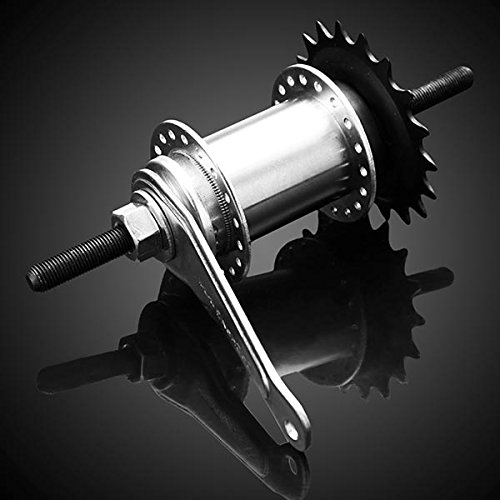 Bicycle Hubs Fixed Gear Bike Drum Brake 36 Holes Refit Accessories by Yongse