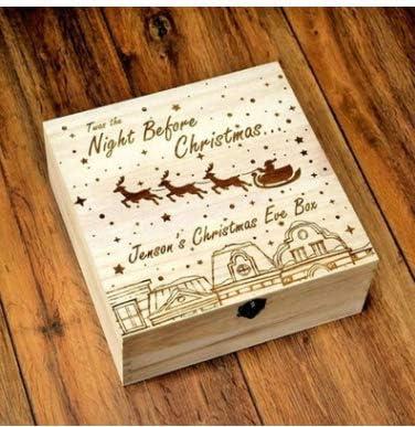 Adoture - Caja de Madera para niños, diseño de muñeco de Nieve, Tipo B.: Amazon.es: Hogar