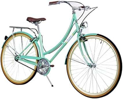 Zycle Fix Civic Women - Minty - Women City Series Single-Speed Urban Commuter Bike