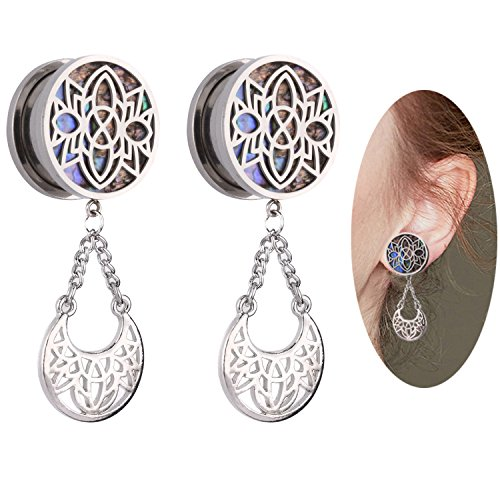 0 gauge plugs dream catcher - 6