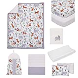 NoJo 8 Piece Crib Bedding Set with