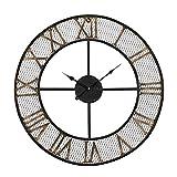 Rustic Living 24'' Mesh Roman Wall Clock