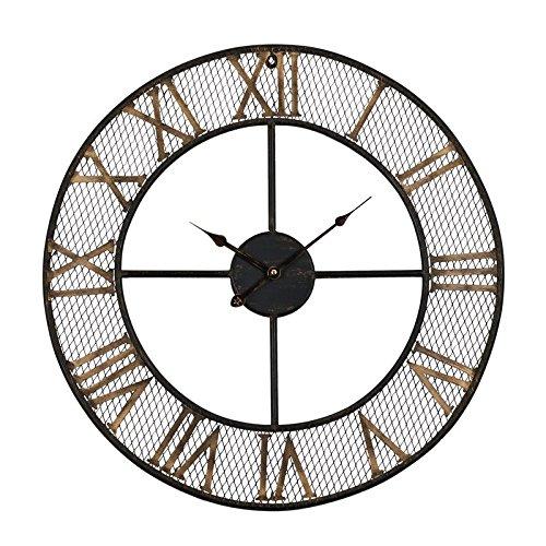 Rustic Living 24'' Mesh Roman Wall Clock by Wall Clock