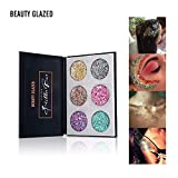 New 6 Colors Makeup Super Glitter Bar Party Crazy Bold Eyeshadow Eye Shadow Palette - Pressed Glitter Bar (6 Color...