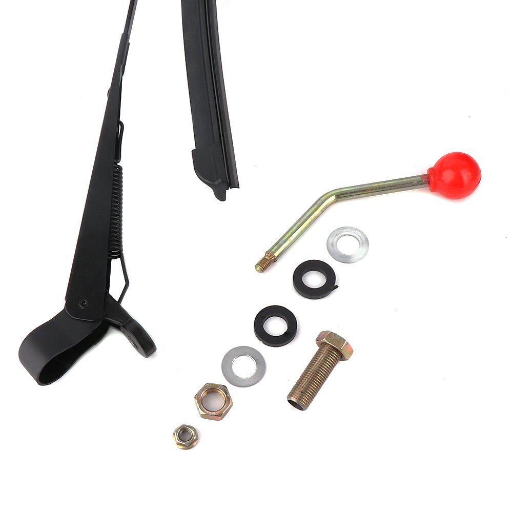 Sue Supply - Limpiaparabrisas manual para parabrisas con revestimiento duro o cristal: Amazon.es: Coche y moto