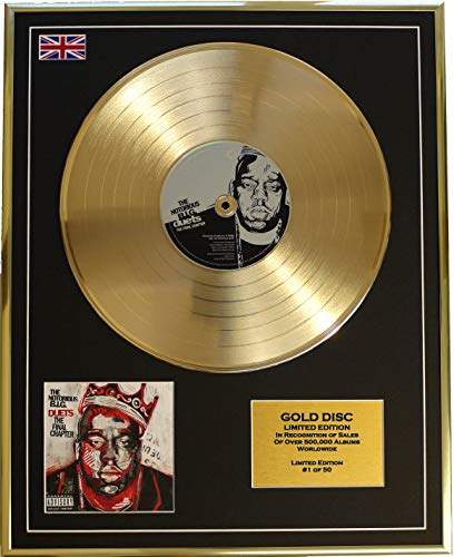 EC The Notorious B.I.G/Cd Gold Disc Record Limited Edition/Duets: The Final Chapter (The Notorious Big Duets The Final Chapter)
