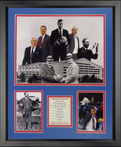Legends Never Die Kansas Jayhawks Coaches Framed Photo Collage, 16