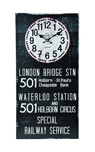 KEYSTONE Old Look Antique design Bus Roll Clock LONDON OLCLBSLO from Japan