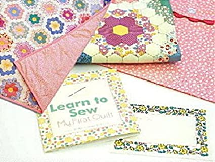 Amazon Learn To Sew My First Quilt Kit Pink Moda Fabric