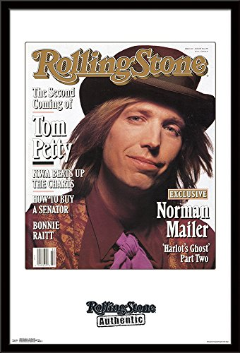Trends International Mounted Poster Rolling Stone Tom Petty 1991