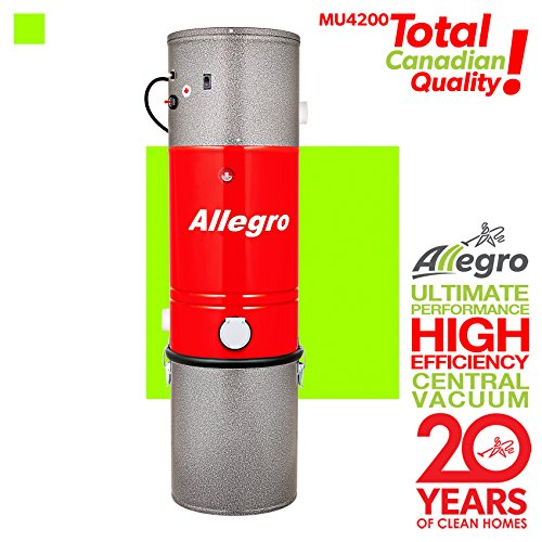 Allegro MU4200 Classic 3,000 Square Feet Central Vacuum Power Unit