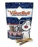 ValueBull All Natural 6 Inch Medium Bully Stick Dog Treats, 100 Count