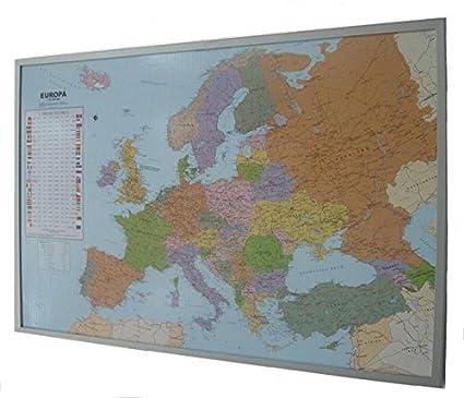 Amazoncom Politische Europakarte Auf Kork Pinnwand Office Products