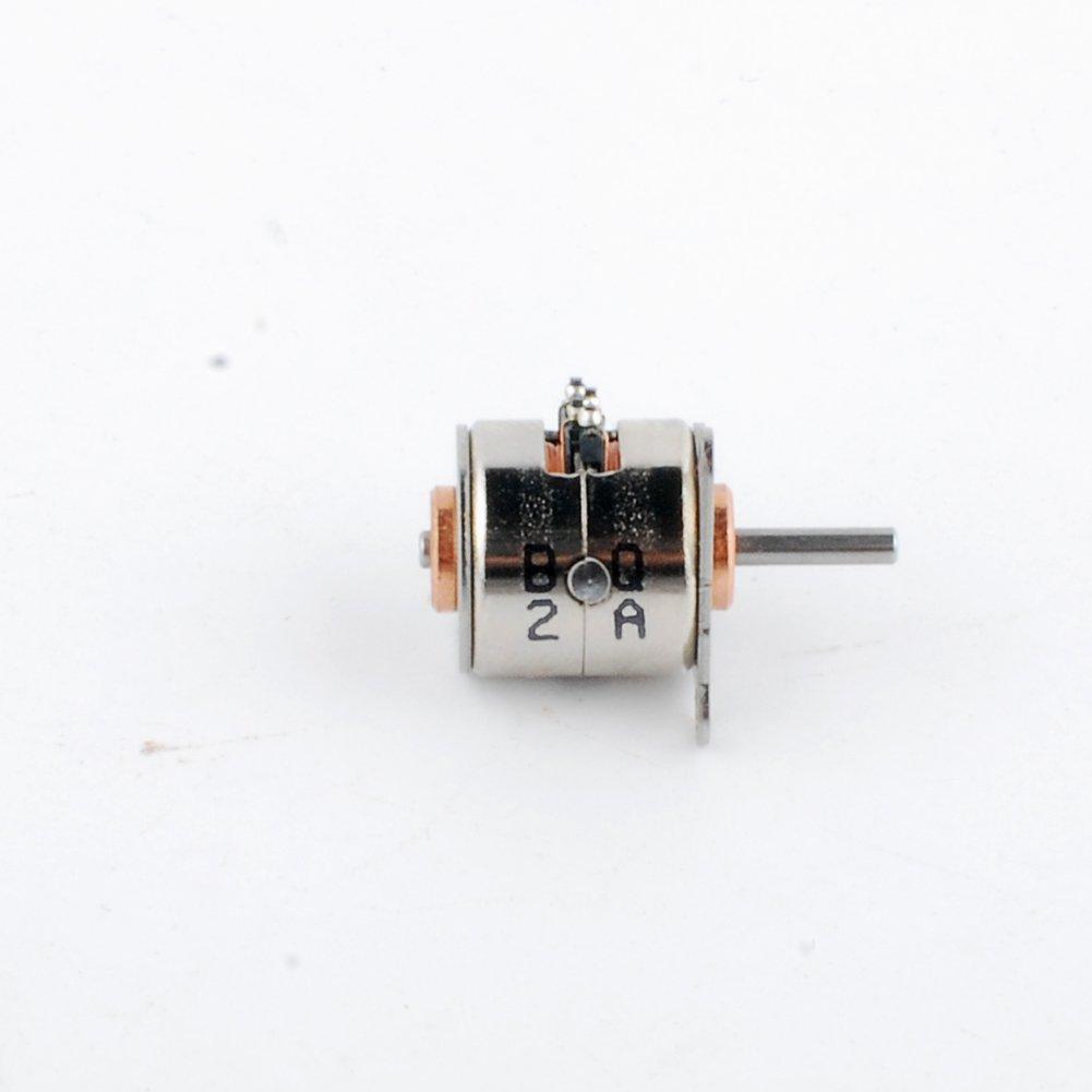 5pcs 6v Ddia 10mm Micro 2 Phase 4 Wire Stepper Motor 18 Degress Mini Four Diagram Stepping