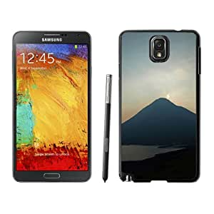 New Fashionable Designed For Samsung Galaxy Note 3 N900A N900V N900P N900T Phone Case With Mountain Silhouetted At Dusk Phone Case Cover