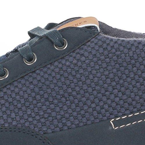 Jack&Jones Baskets Homme Bleu Marine 12123937 JFWSHARK Textile Combo Navy Blazer
