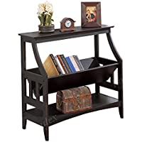 Poundex Magazine Table, Black