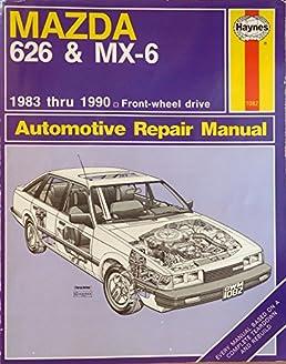 mazda 626 mx 6 automotive repair manual larry warren john h rh amazon com