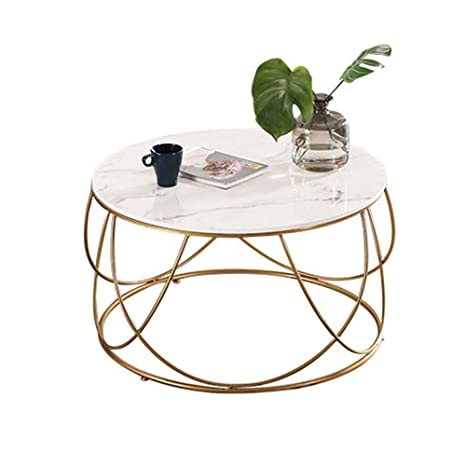 Stupendous Amazon Com Tables Meiduo Marble Coffee Round Sofa Side Gmtry Best Dining Table And Chair Ideas Images Gmtryco