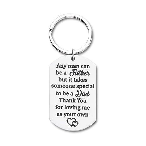 Amazon.com: Regalos para el día del padre, llavero, regalo ...