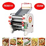 TOPCHANCES 550W Home Stainless Electric Automatic Pasta Machine Noodle Pasta Maker Chopped Noodles Maker Machine Pressing Machine 220V (FKM180)