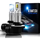 BEAMTECH 881 Led Fog Light Bulb,894 898 886 CSP Chips 6500K 800 Lumens Xenon White Extremely Super Bright