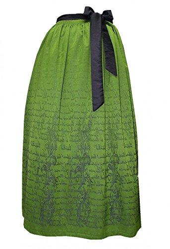 Gr.34-50 Balkonett-Dirndl Festtracht Kleid Trachtenkleid Dirndlkleid hellgrün