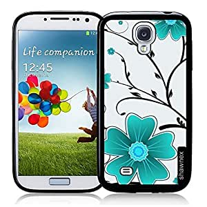 Flower Pattern Thinshell Case Protective S4 Case