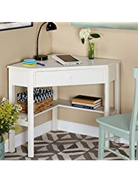 This classically styled desk utilizes a small.