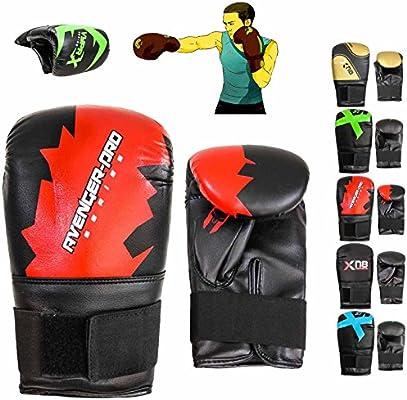 Xn8 - Guantes de Boxeo para Bolsa de Boxeo MMA Muay Thai, Color Red (Pack of 2 Units), Tamaño Talla Estándar: Amazon.es: Deportes y aire libre