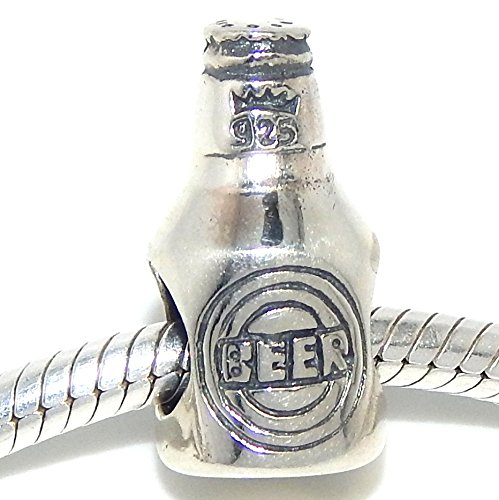 Silver Sterling Beer (925 Sterling Silver